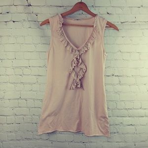 CABI PALE PINK SLEEVELESS TOP